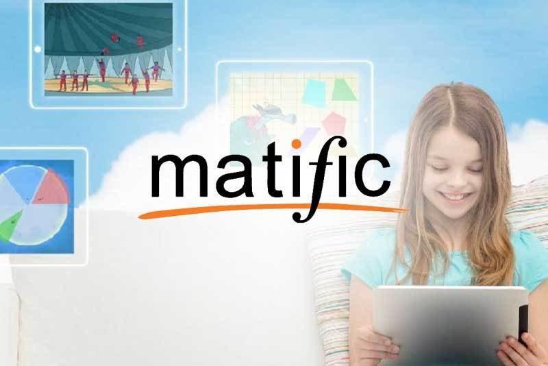 Trẻ vui học Matific